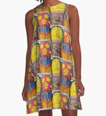 Cement People A-Line Dress