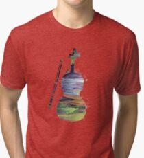 A violin Tri-blend T-Shirt