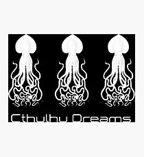 Cthulhu Dreams. HP Lovecraft Photographic Print