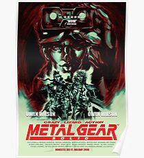 Metal Gear Owen Wilson Poster
