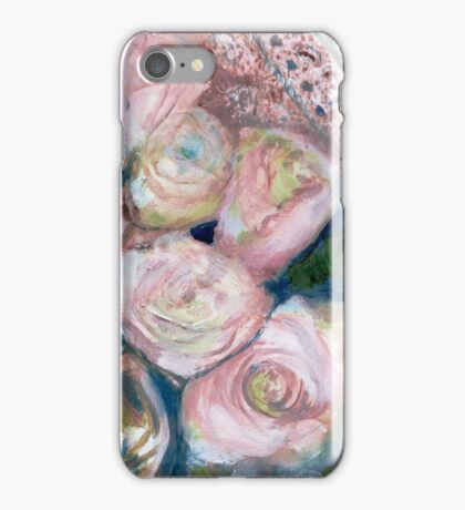 Roses on Big Mama's Chest iPhone Case/Skin