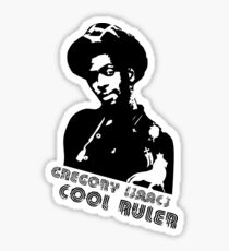 The Cool Ruler Ever Sticker