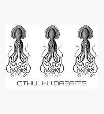 Cthulhu Tshirt. HP Lovecraft Photographic Print
