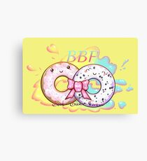 Donuts: Best Buns Forever Canvas Print