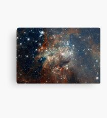 Hubble Space Telescope Print 0027 - Hubble Images 30 Doradus NGC 2060  - hs-2012-01-e-full_jpg Metal Print