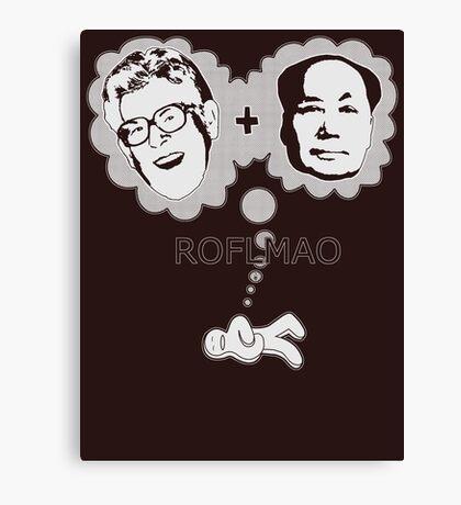 ROFLMAO Canvas Print