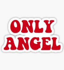 retro only angel Sticker