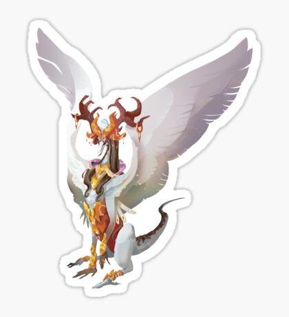 Princess dragon Pegatina