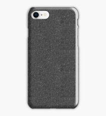 Black Sparkle Glitter iPhone Case/Skin