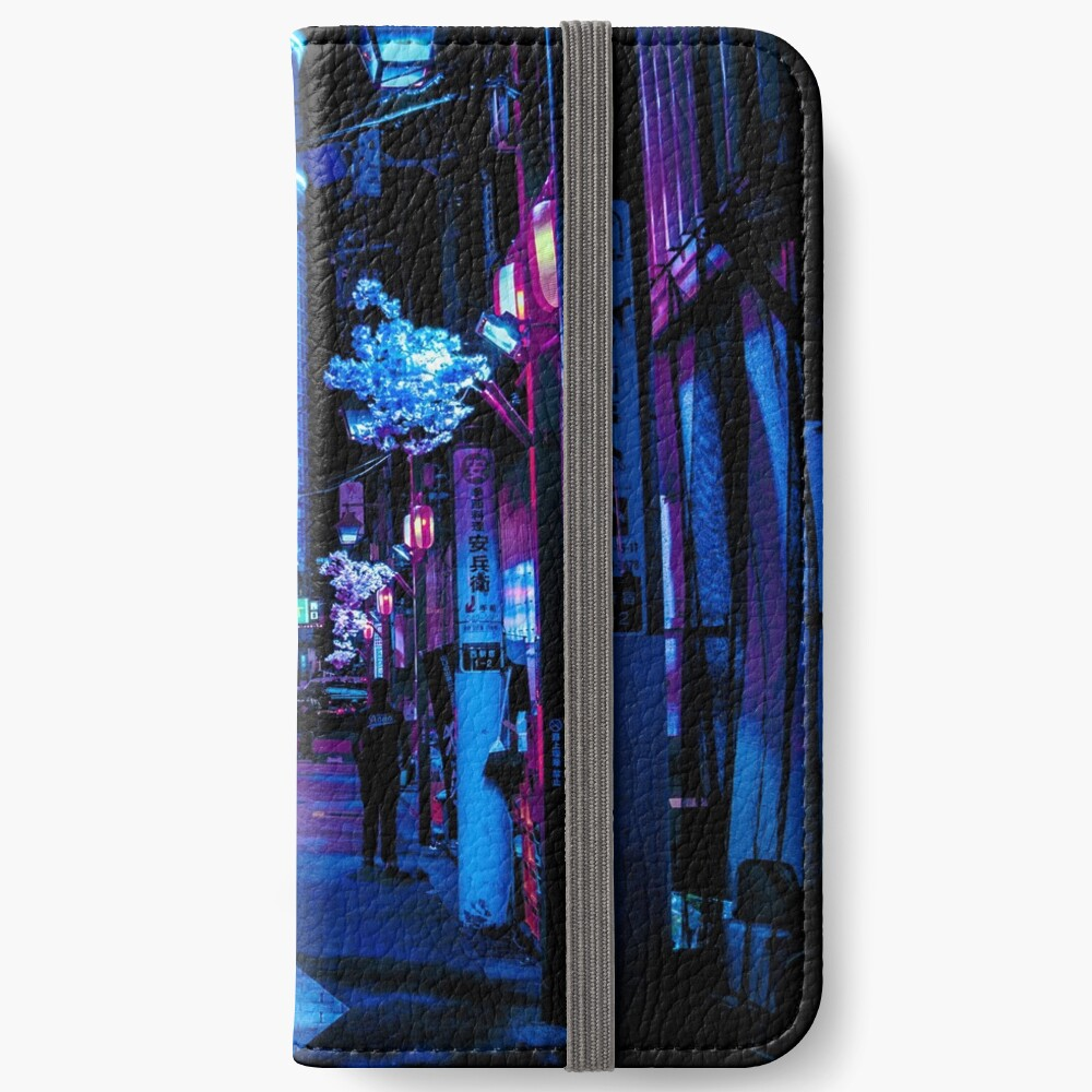 Blade Runner Vibes iPhone Wallet