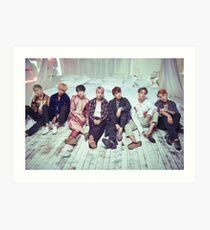 Lámina artística BTS Wings ComeBack v2