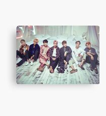 BTS Wings ComeBack v2 Metal Print