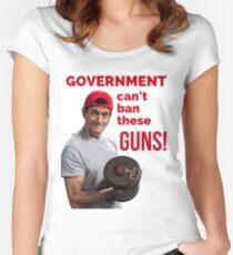 Paul Ryan Guns Women's Fitted Scoop T-Shirt