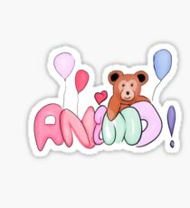 Animo! Sticker