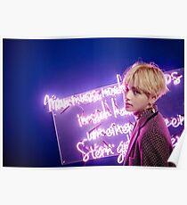 BTS Wings V v1 Poster