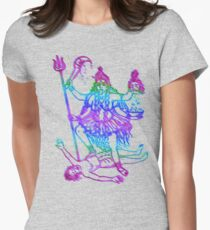 Kaali Maa Women's Fitted T-Shirt