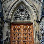 Door - East Block - Wellington St. Elevation by John Schneider