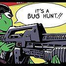 """It's a bug hunt!!"" by Johannes Grenzfurthner"