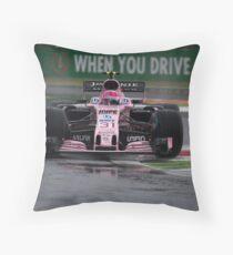Force Sahara Formula 1 Throw Pillow