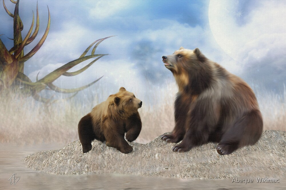 When Bear Speaks by Abeque  Wikimac