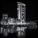 Meridian Tower, Swansea by Purple128