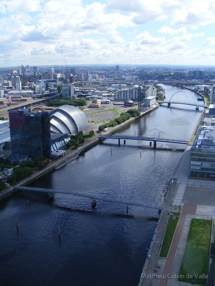 River Clyde, Glasgow by Matthew Colvin de Valle