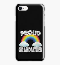 Proud Grandfather Of LGBT Gay Ally Community Rainbow iPhone Case/Skin