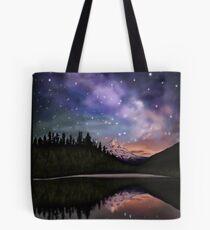 Alaskan sky Tote Bag