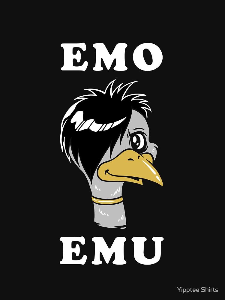 Emo Emu by dumbshirts