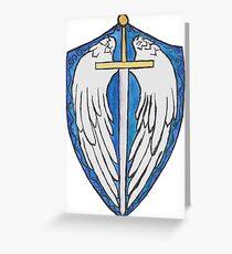 Sanctum Imperium Coat of Arms  Greeting Card