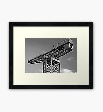 MAMMOTH IN THE SKY Framed Print