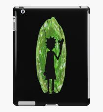 Rick and Morty - Portal Silhouette iPad Case/Skin