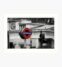 London Lifeline Art Print