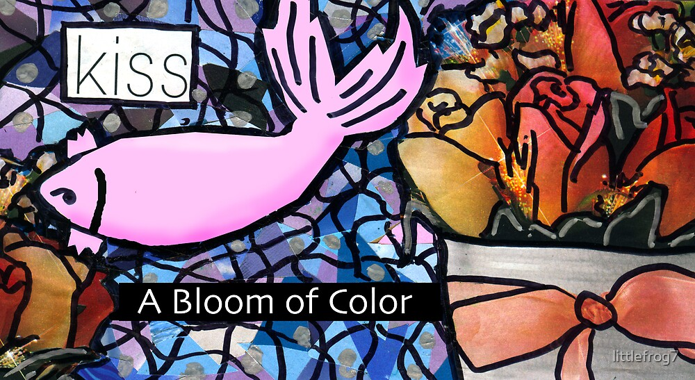 kiss- A Bloom of Color by littlefrog7