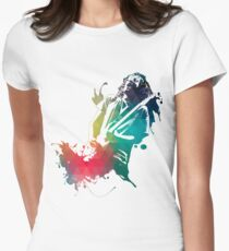 Ink Frusciante Women's Fitted T-Shirt