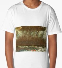Rusty Texture Long T-Shirt