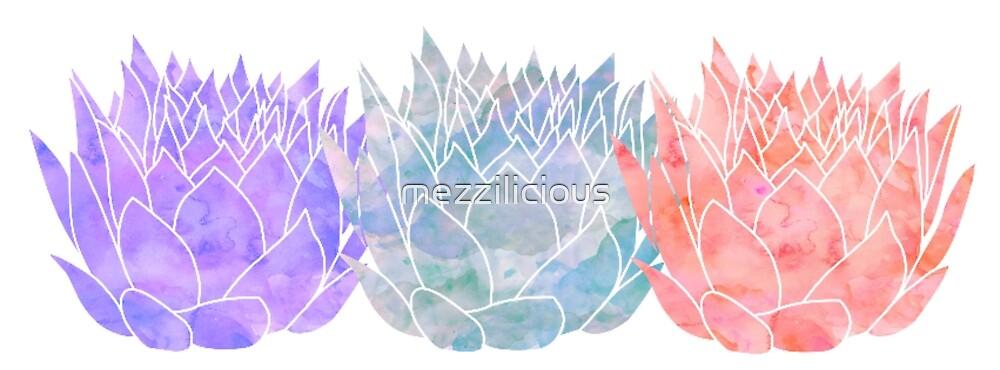 Triple Lotus 2 by mezzilicious