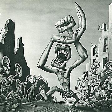 Amerikanische Anti-UdSSR Propaganda: Eine Karikatur des Kommunismus (1945) - Boris Artzybasheff von dru1138