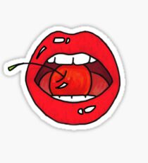 Cherry Lips Sticker