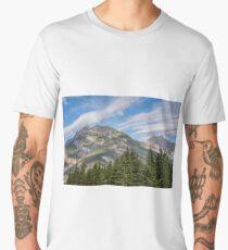 Canadian Rockies Near Kicking Horse Pass Men's Premium T-Shirt