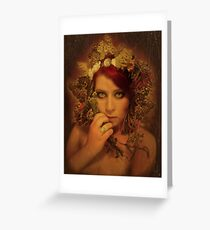Say you'll love me long after I've gone Greeting Card