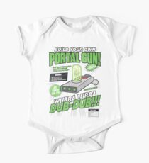 Build Your Own Portal Gun One Piece - Short Sleeve