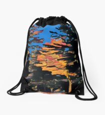 Late Day In Fall Drawstring Bag