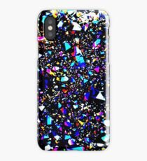 Placer colored crystals. Geode iPhone Case/Skin
