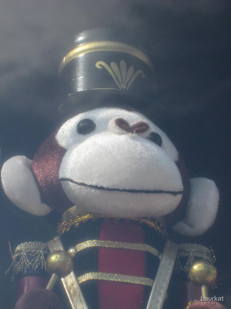 shopwindow monkey soldier by Laurkat