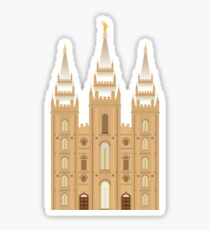 Salt Lake Temple Sticker