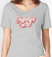 Zaddy's Girl T Shirt Women's Relaxed Fit T-Shirt