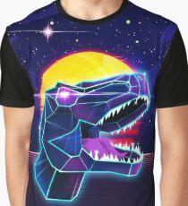 Electric Jurassic Rex Graphic T-Shirt