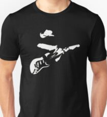 Stevie Ray Vaughan - White Unisex T-Shirt
