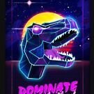 Electric Jurassic Rex - Dominate the Planet by forge22